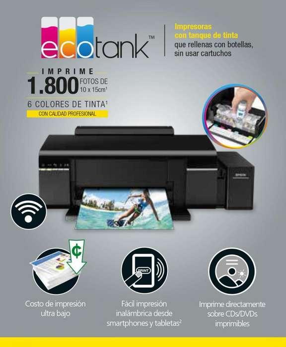 Oferta Impresora Fotográfica Epson L805 IMPRIME CD'S Al Por Mayor Y Menor Nueva!!