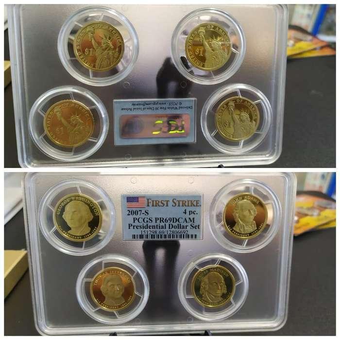 Monedas Certificadas con Envio