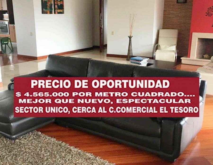OPORTUNIDAD SUPER REBAJON MODERNO <strong>apartamento</strong> MEDELLIN POBLADO SUPERIOR TESORO 270 METROS ESCUCHIO OFERTAS CALERA