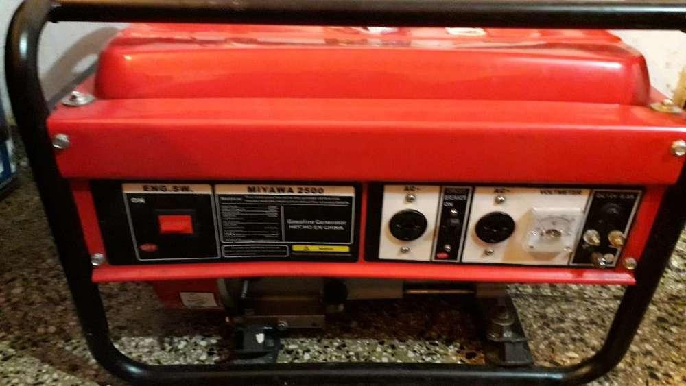 Vendo Generador Miyawa 2500 Monofasico