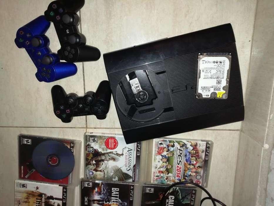 Vendo Play3 Super Slim de 250 Gb