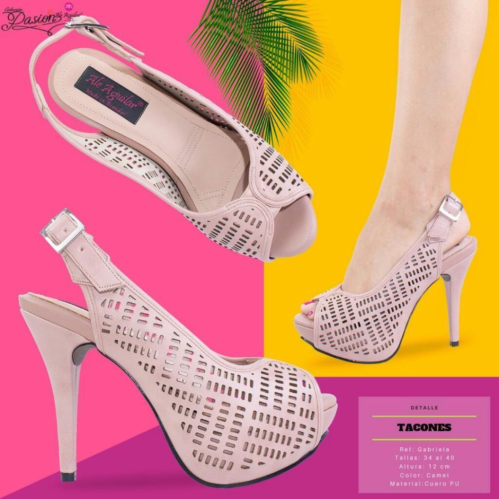 Mujer Zapatos Desde Hasta Altos Para 34 40 Tacones Tallas Guayaquil LUVpSzMGq