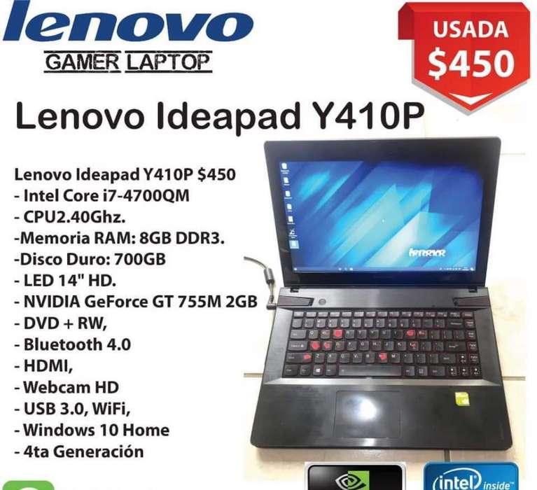 Laptop Lenovo Ideapad I7 4ta Generacion