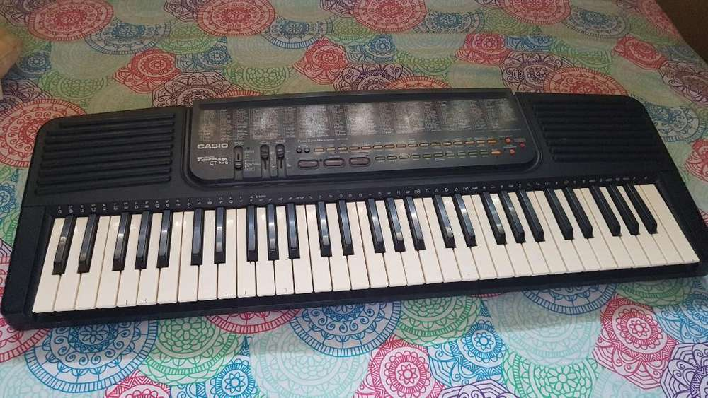 Vendo Piano Casio Posee 6 Teclas Que No