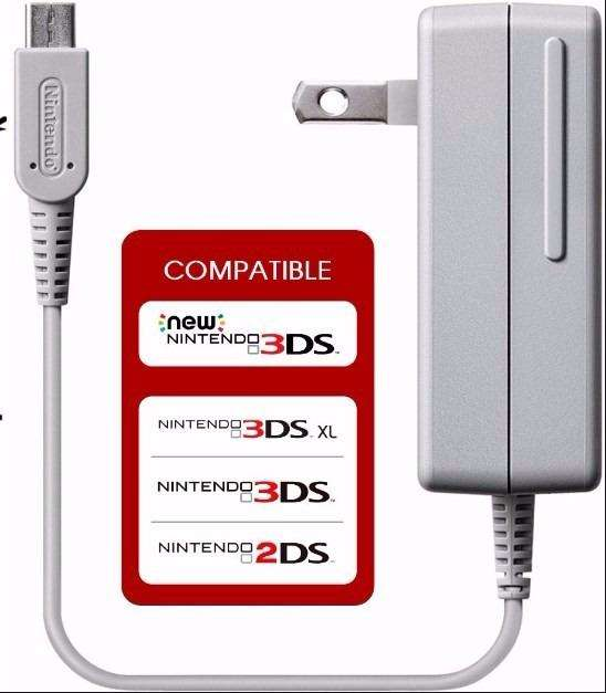 Cargador Nintendo Ds 3Ds