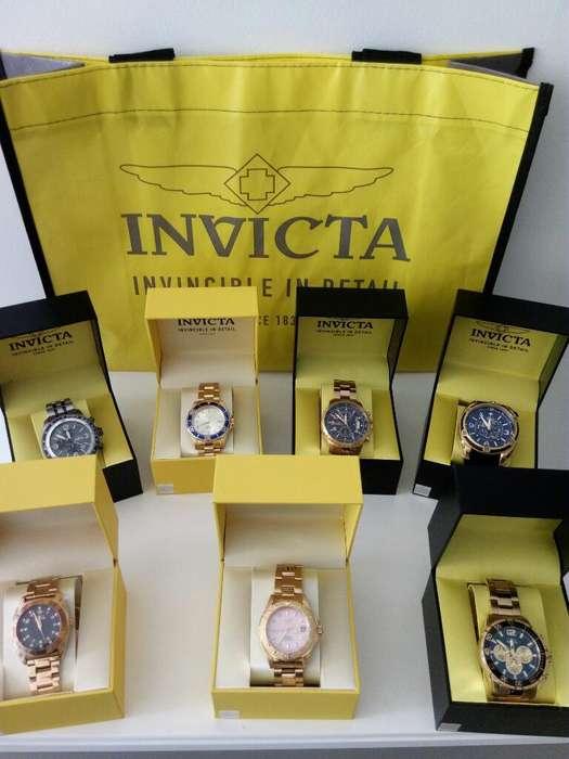 Relojes Invicta Originales Varios Precio