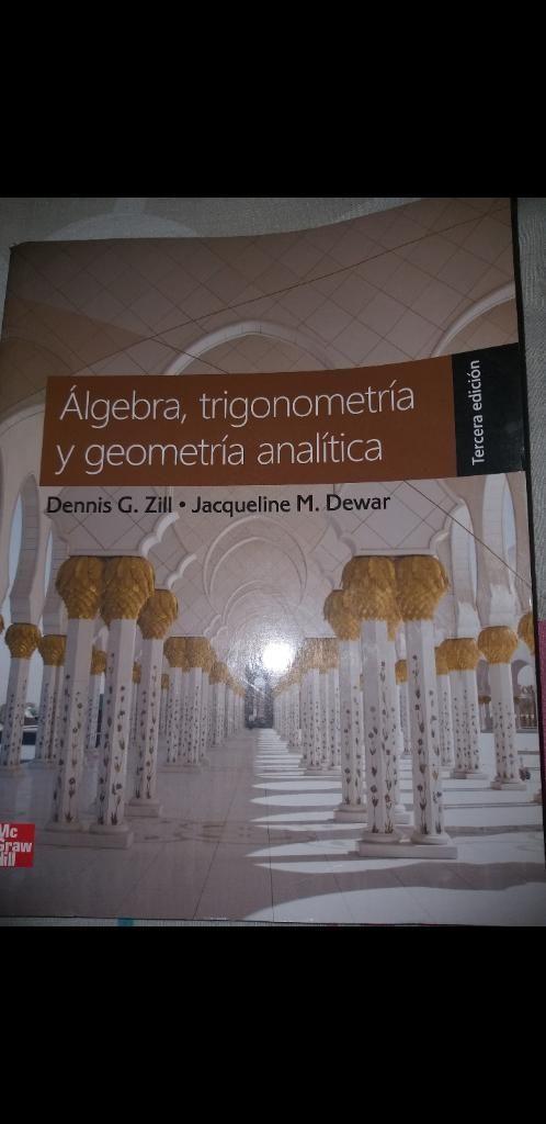 Libro de Algebra, Trigonometria Y Geomet