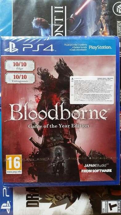 Bloodborne Game Of The Year Edition Ps4 Nuevo Sellado Stock