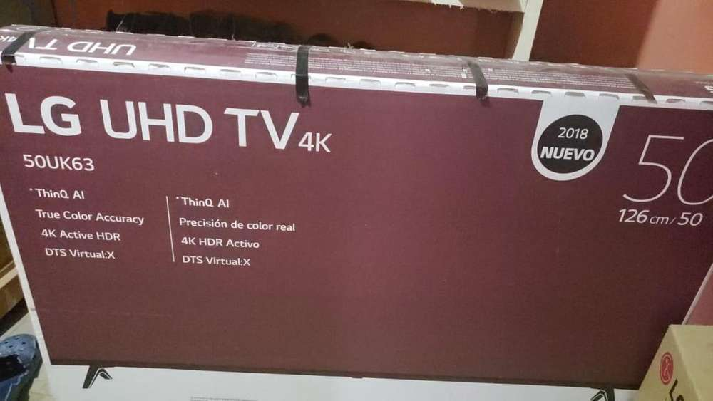 TV 50 pulgadas LG semi nuevo 1400