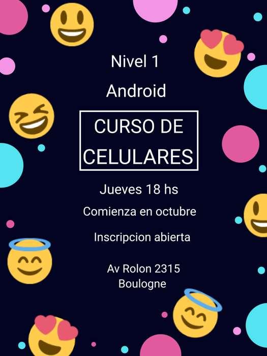 CURSO DE CELULARES NIVEL 1