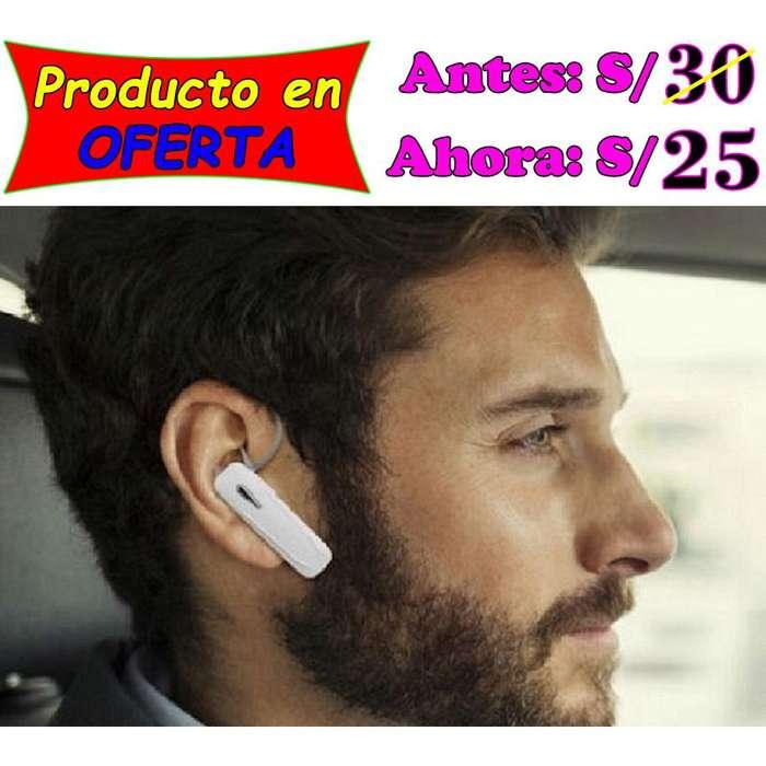 Audífono inalámbrico universal de calidad y bajo precio en Piura