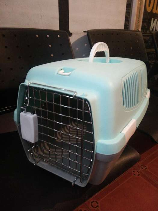 Jaula Kennel No 1 Gatos Perro Mini Verde