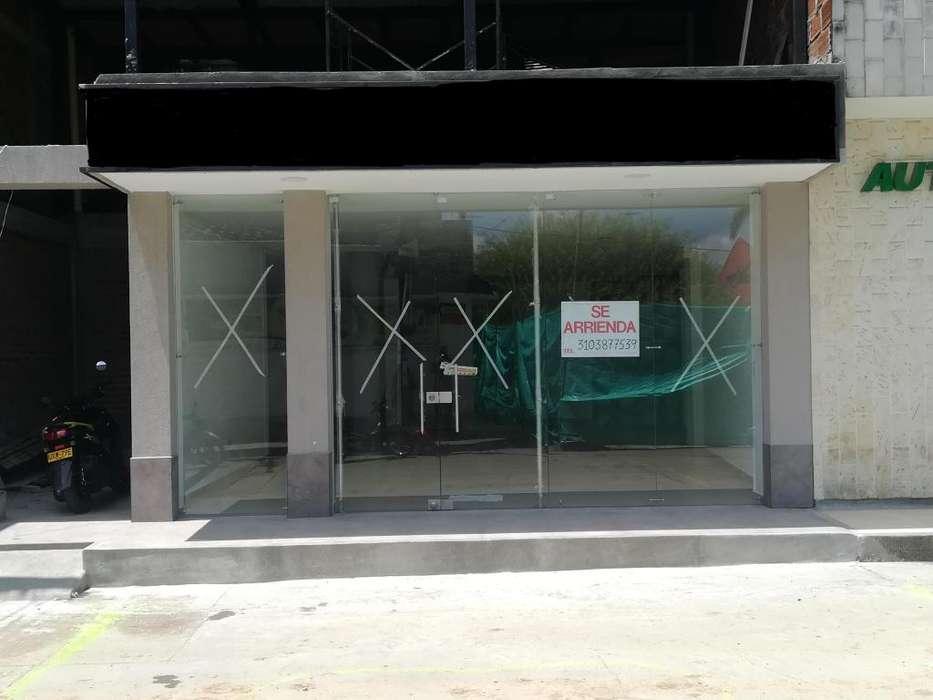 Arrendo local comercial nuevo en zarzal valle rea 106 mts2
