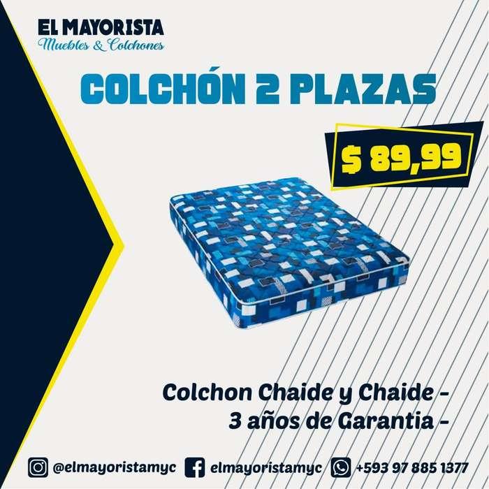OFERTA COLCHÓN 2 PLAZAS CHAIDE