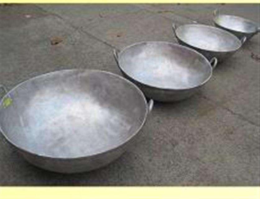 Pailones de aluminio para hacer Natilla o Manjar blanco Cali, Yumbo,Jamundi, Palmira