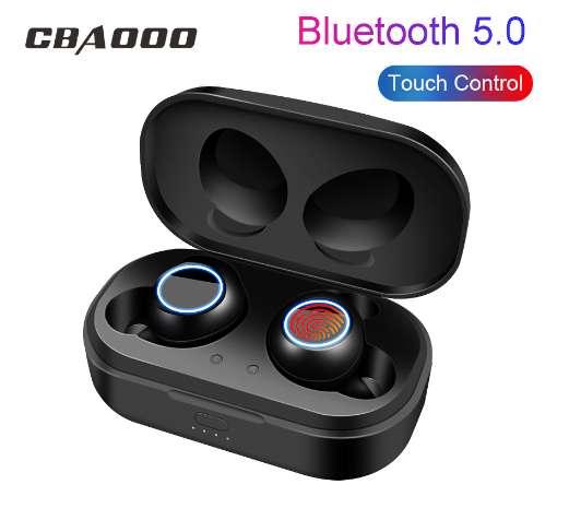 CBAOOO TWS Min auricular Bluetooth auriculares inalámbricos