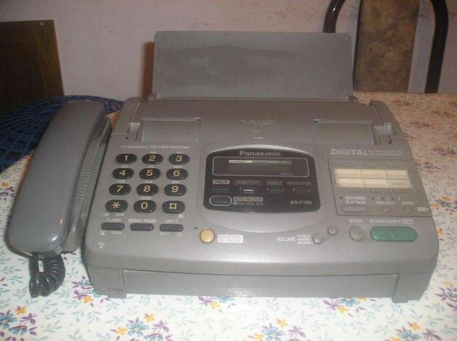 <strong>fax</strong> Panasonic Kx F780 En Buen Estado De Uso Y Funcionamiento