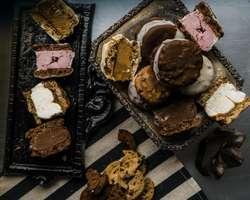 Alfajores Helados, Bochas y figuras de helado, Premmium