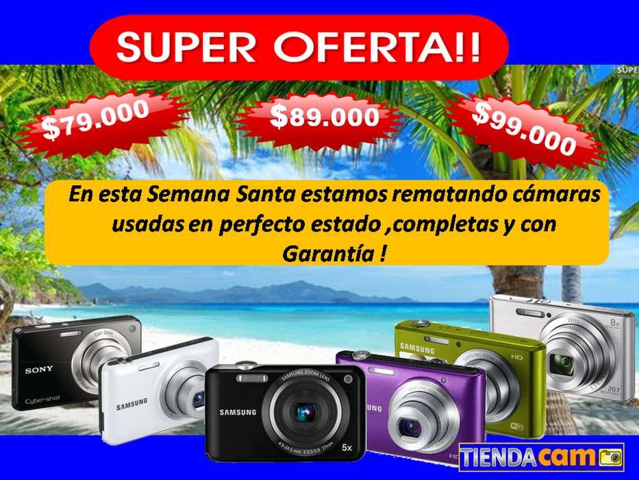 Camara Fotográfica Digital Usadas a 79.000 89.000 99.000 SONY SAMSUNG PANASONIC KODAK <strong>olympus</strong>