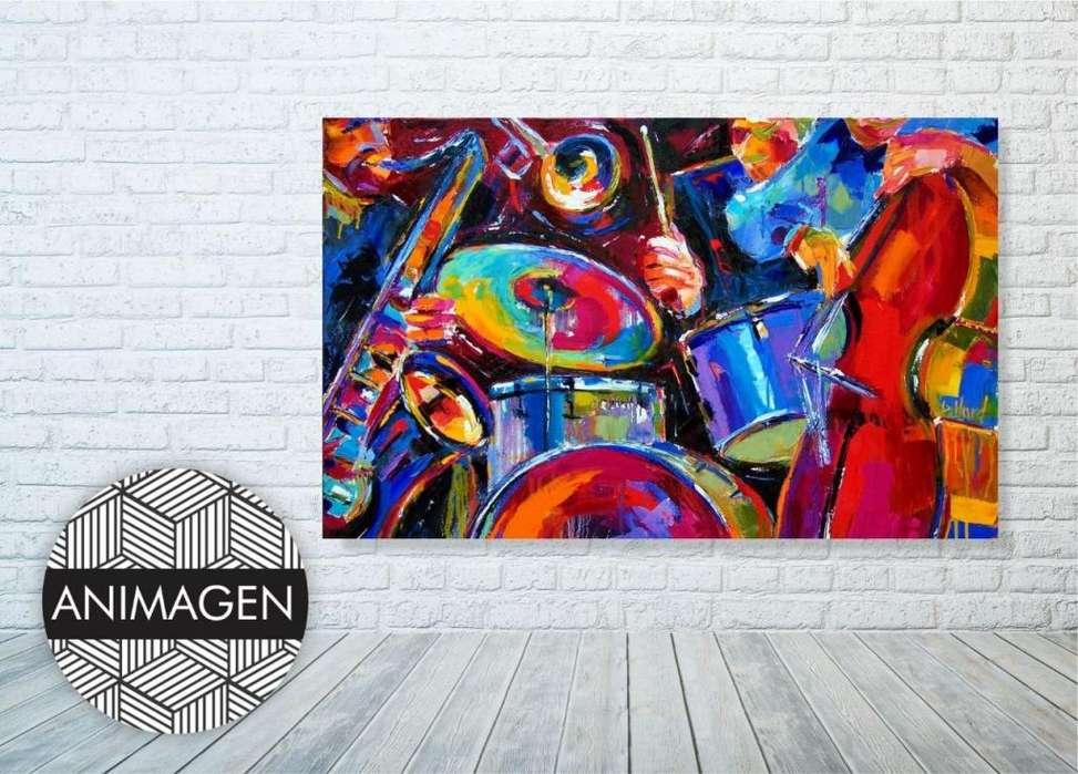 Cuadro decorativo de tambores 4521