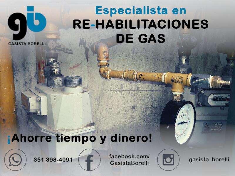 Gasista Matriculado Ecogas - Juan G. Borelli - Mat. Prof. 1/208 Cat. 2