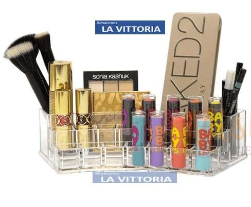 Organizador de Cosmeticos con Varias Aberturas para su Maquillaje