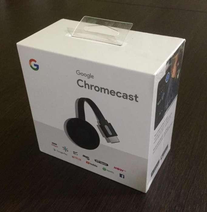 Chromecast 2018 G2 Original Sellado !