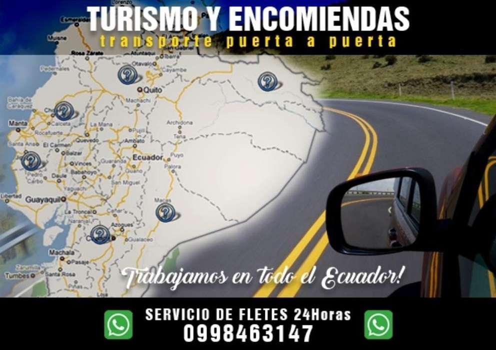 Turismo Y Encomiendas a Nivel Nacional