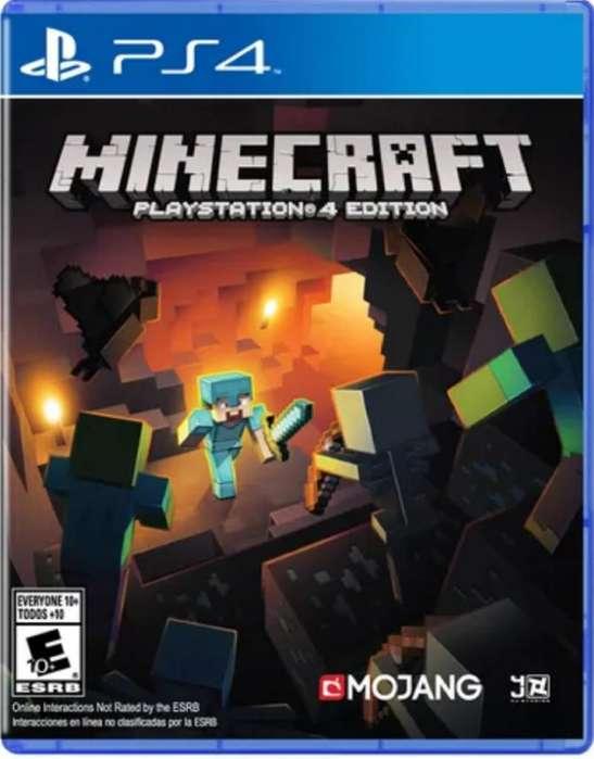 Minecraft Edicion Ps4 Original