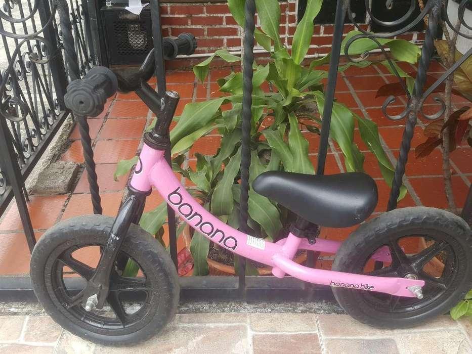 Bicicleta Niña de Impulso de 3 a 5 Años