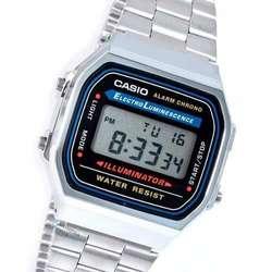 80a4740dba23 ... Reloj Casio Plateado A168 Old School Retro Original CC Monterrey local  sotano 5 ...