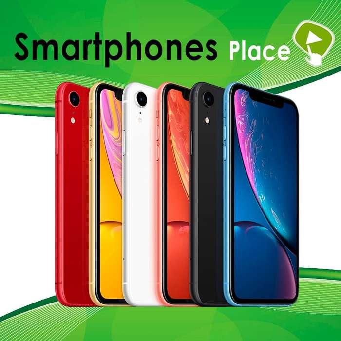 IPHONE XR DE 64GB NUEVOS SELLADOS ORIGINAL GARANTÍA/ SMARTPHONES PLACE