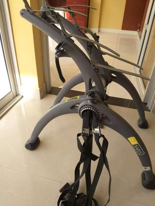 Portabicicletas Saris para 3 Bicicletas
