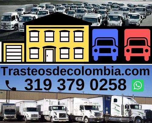 Mudanzas Nacionales Tel: 319 379 0258 Trasteos de Colombia
