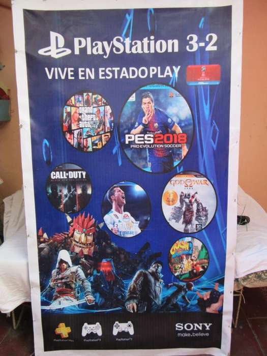 Cartel de Ps2 Ps3