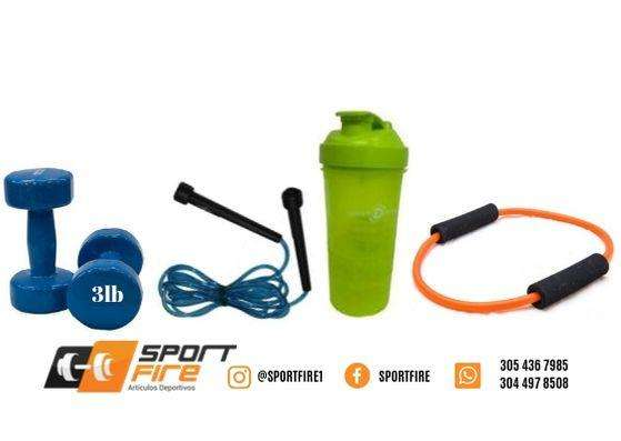 Kit Deportivo sport fire (Envio a todo Colombia)