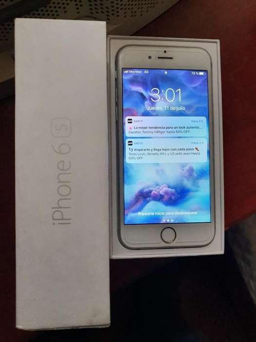iPhone 6s de 64 Gigas. Blanco.