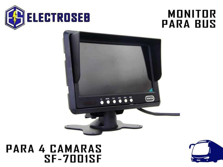 <strong>monitor</strong> De Bus 4 Cámaras