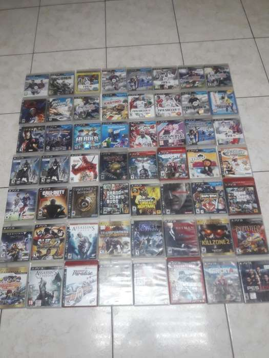 Play 3, Ps3 Cd Juegos Originales Intacto