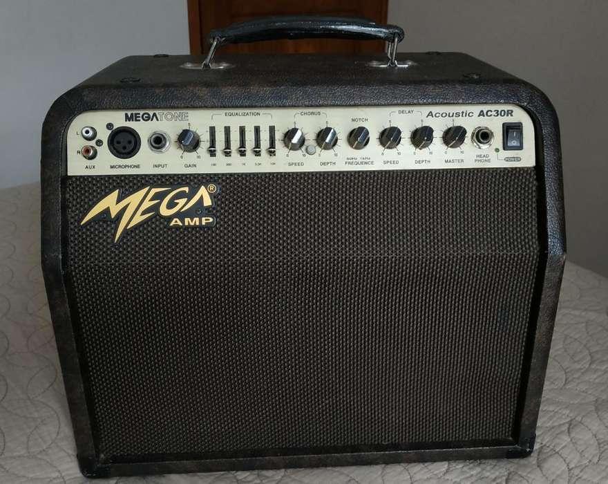Amplificador Mega Acustic Ac30r 33w