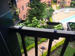 Matera / Jardinera Con Soporte Para Balcón X Unidad o X 5