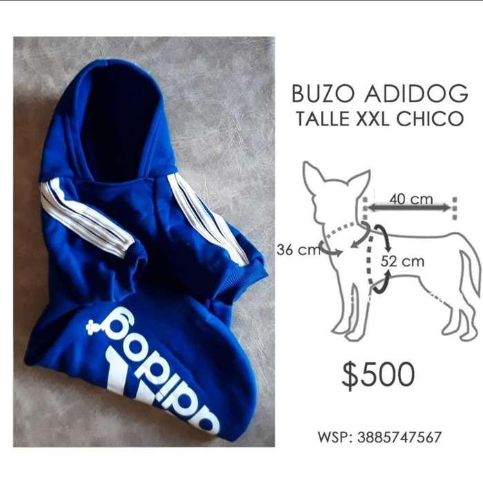 Buzo Perro Azul