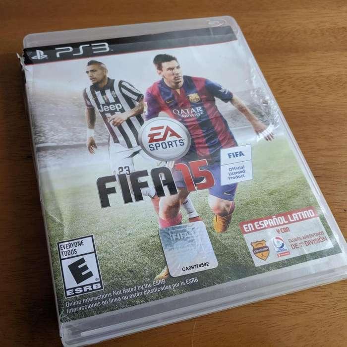FIFA 15 PLAYSTATION 3 POCO USO
