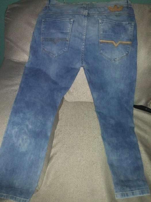 Pantalon Diesel/adidas Talla 34 Original