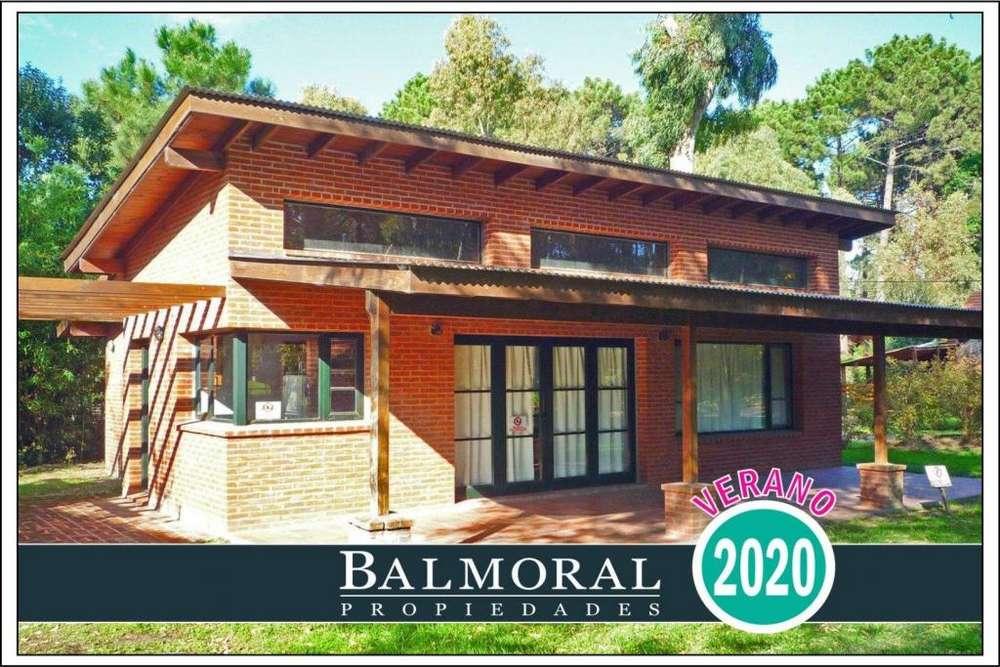 Ref: 8601 - Casa en alquiler, Pinamar - Zona Bosque