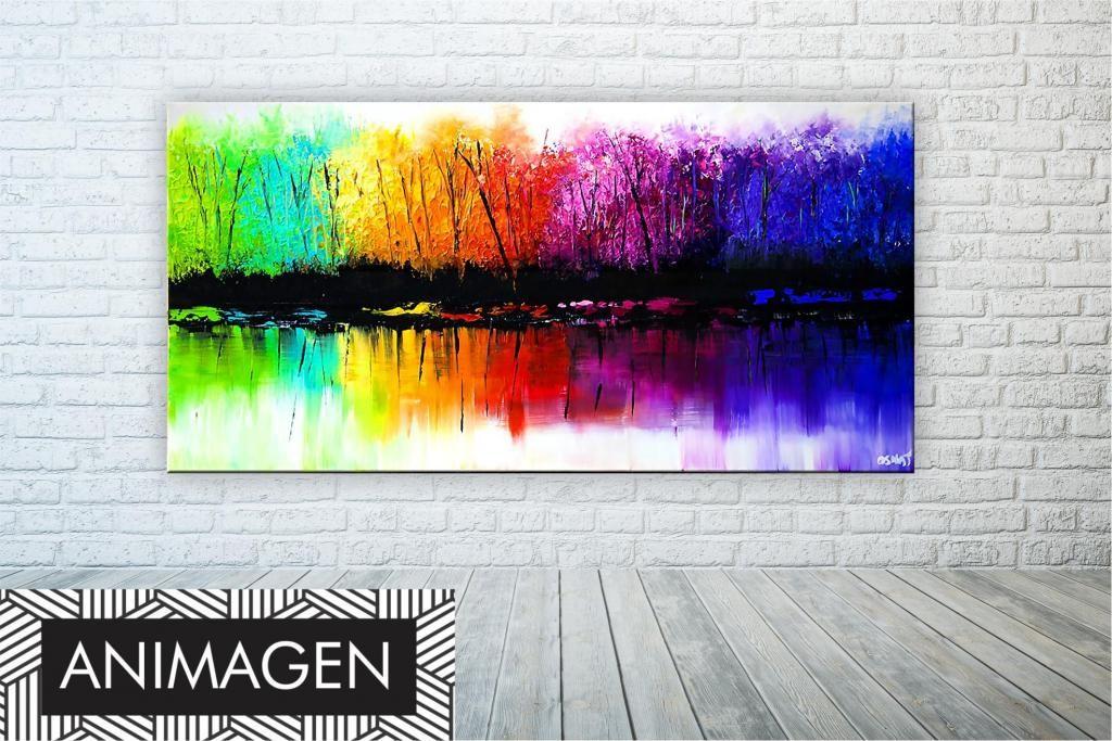 elegante cuadro abstracto ideal para tu hogar 9761