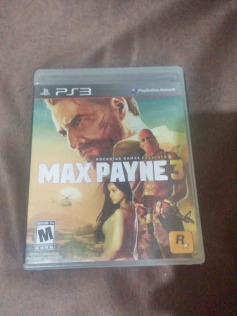 Vendo Max Payne 3 para Ps3 Usado