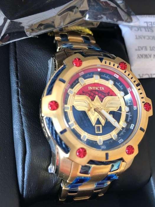 Reloj Wonder Woman para Mujer