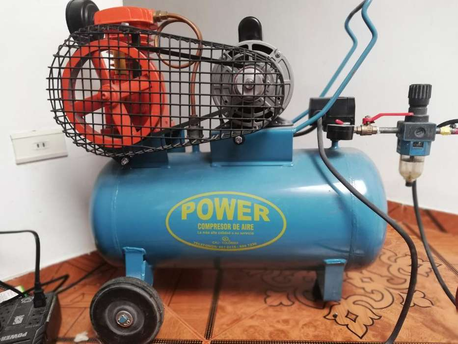 Compresor de Aire Lubricado con Aceite