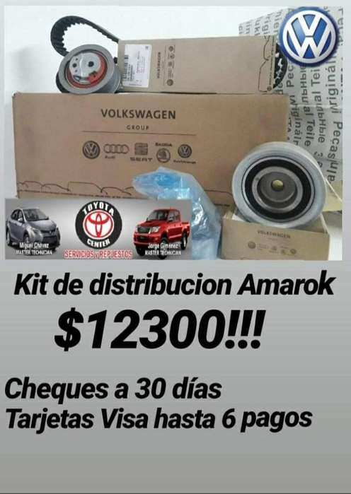 Cambio Kit Distribucion <strong>toyota</strong> Hilux